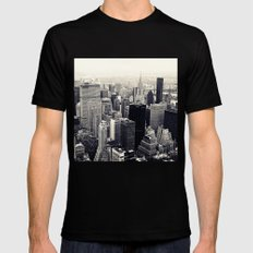 tribute to NYC Mens Fitted Tee Black SMALL