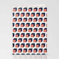 Cubes Stationery Cards