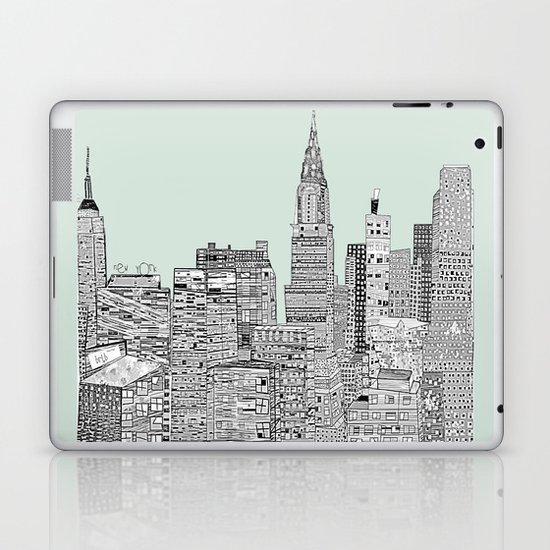 New York vintage  Laptop & iPad Skin