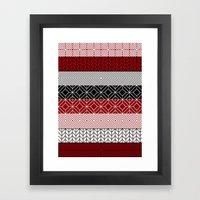 Tribal I Framed Art Print