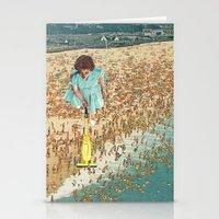 OCD Lady Stationery Cards