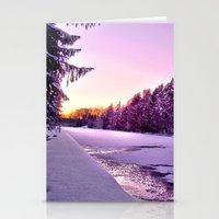 Frozen Voyage Stationery Cards
