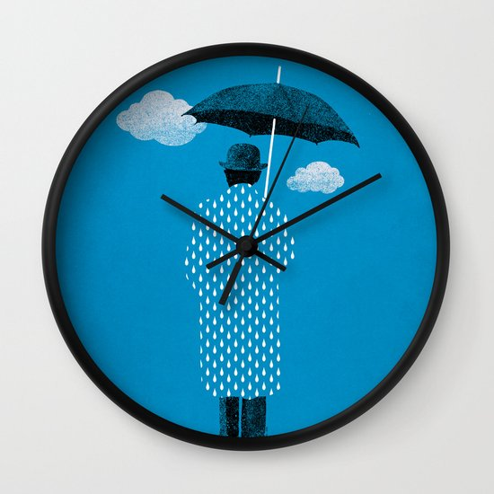 Rainman Wall Clock