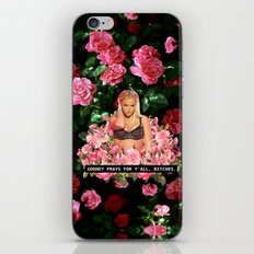 BRITNEY PRAYS. iPhone & iPod Skin