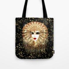 Golden Venice Carnival Mask  Tote Bag