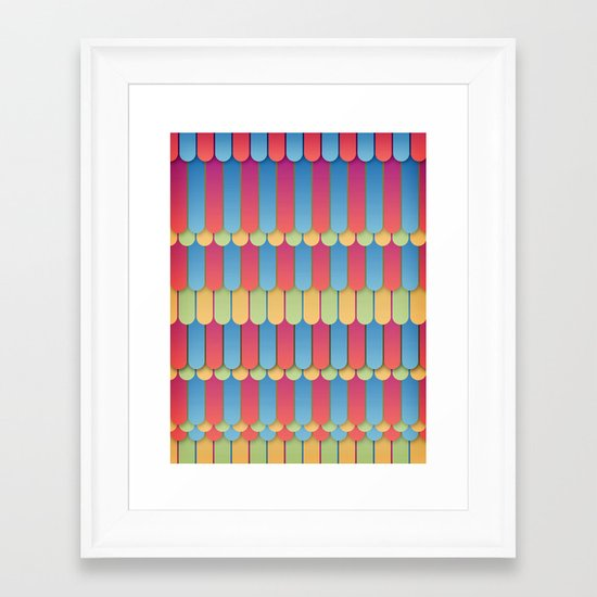 Abstract 18 Framed Art Print