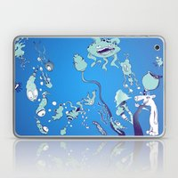 Aquatic Creatures Laptop & iPad Skin