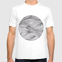 círculo Mens Fitted Tee White SMALL