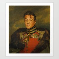 Sylvester Stallone - Rep… Art Print