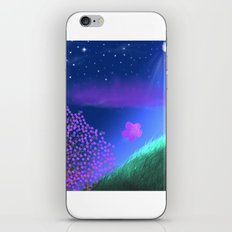 FLOWER IN THE WIND iPhone & iPod Skin
