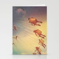 Swinging From The Sun Stationery Cards