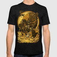 Odin Mens Fitted Tee Tri-Black SMALL