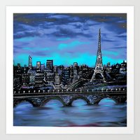 Eiffel Tower ~ Paris Fra… Art Print