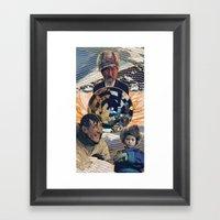 Ice Buddies Framed Art Print