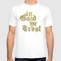 In Good We Trust Mens Fitted Tee White SMALL