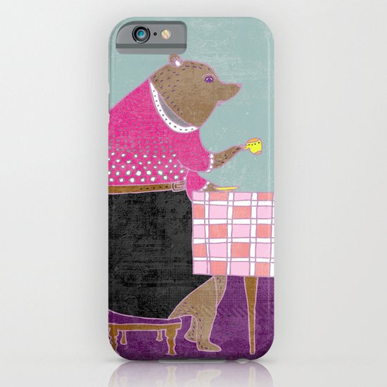 Afternoon tea iPhone & iPod Case