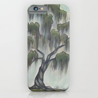 iPhone & iPod Case featuring Sunny Live Oak by Christa Rosenkranz
