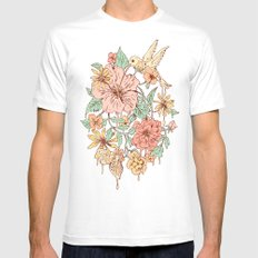 Coexistence Mens Fitted Tee White SMALL