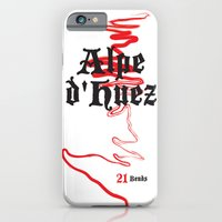 Famous Climbs: Alpe d'Huez 2, Old World iPhone 6 Slim Case