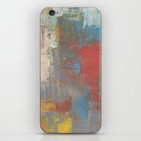 Multicolor Brush Strokes iPhone & iPod Skin