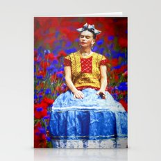 FRIDA dreaming away Stationery Cards