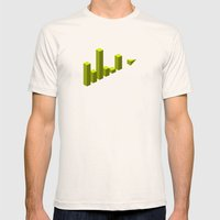 The LATERAL THINKING Project - Movimiento Mens Fitted Tee Natural SMALL