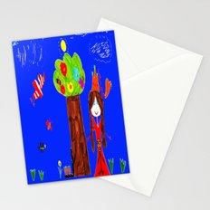 Pregnant Princess Stationery Cards