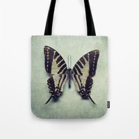 Vintage Butterfly 5 Tote Bag