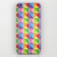 Squiangle Again & Again.… iPhone & iPod Skin