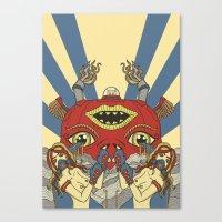 Mystical Pop(pers) Canvas Print
