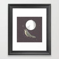 NIGHTINGALE Framed Art Print