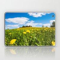 Dandelion field Laptop & iPad Skin