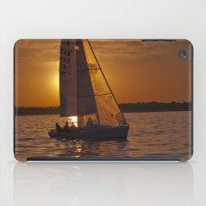 Sail into the sunset iPad Case