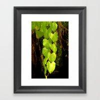 Love Ivy Framed Art Print