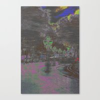 Phased, Or Fazed, But A … Canvas Print