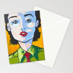 Up To The Task Stationery Cards