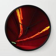 Traffic At Warp Speed IV Wall Clock