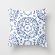 Blue Rhapsody II Throw Pillow