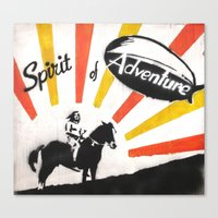 spirit of adventure Canvas Print