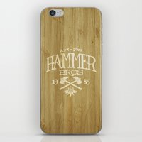 HAMMER BROTHERS iPhone & iPod Skin