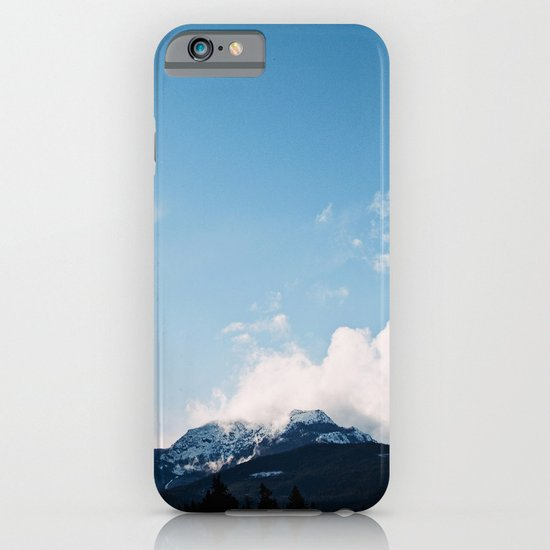 Clouds over the Mountains iPhone & iPod Case
