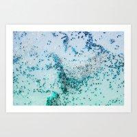 NATURAL SEA ART Art Print