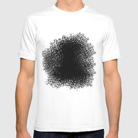 Amorphous 3 Mens Fitted Tee White SMALL