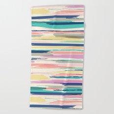 Painted_Stripe Beach Towel