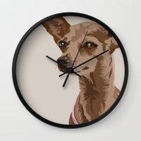 Macy the Chihuahua Dog Wall Clock