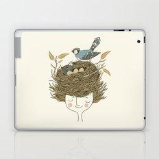 Bird Hair Day Laptop & iPad Skin