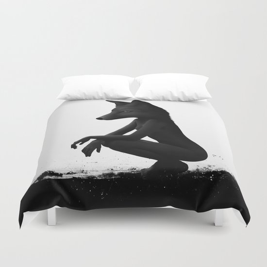 The Silent Wild Duvet Cover
