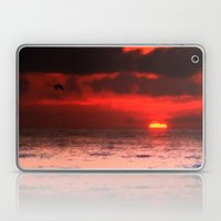 Pelican at Sunrise Laptop & iPad Skin