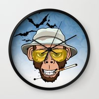 Monkey Business In Las V… Wall Clock