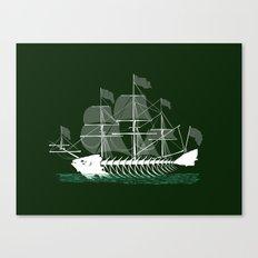 Cutter Fish Canvas Print